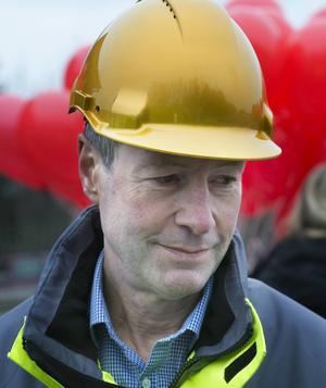 Magnus Lundberg, projektchef, har varit med under hela projektet och för honom blandades glädjen med vemod.