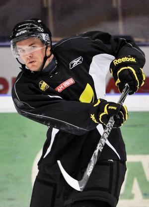 PP-specialist. I vinter ska backen Tomas Mitell leverera som förväntat.Foto : Jonas Bilberg