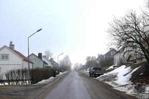 Vintervägen.
