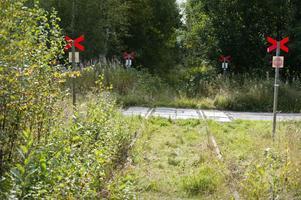 Rälsen ligger kvar, men tågtrafiken på inlandsbanan ligger i träda mellan Mora, Vansbro och Persberg i Värmland. Vid Vika i Mora har skoterlederna tagit över banvallen tills vidare.