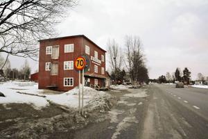 Här skedde den misstänkta gruppvåldtäkten i Hammerdal på söndagsmorgonen 9 mars.