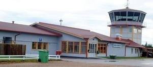 Härjedalen airport i Sveg.