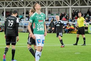 Johan Eklund gjorde 13 mål under sin sista säsong.