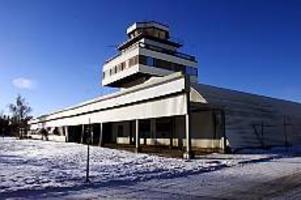 Rörbergs flygplats räddades  - med ett nödrop.