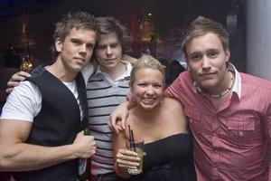 Silk Martin, Johan, Annie och Lunden.