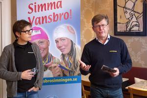 Vansbrosimningen väljer att starta ett motionslopp på cykel tillsammans med Monark i Vansbro. Något som Mats Hermansson, marknadsansvarig på Monark, och Jan Palander, generalsekreterare, kunde berätta om vid en presskonferens i Falun på onsdagseftermiddagen.