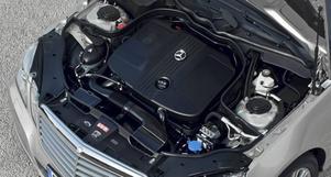 Mercedes fyrcylindriga diesel ger massor av kraft till en förbluffande låg förbrukning. Den svenska straffbeskattningen av moderna dieslar är pinsam.