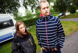Hanna Eismo och Andreas Lindström bekräftar att hus med fukt- eller mögellukt går bort.
