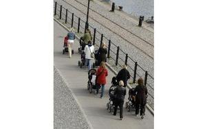 Det så kallade födelsenettot var -6 i Säter och -43 i Hedemora. I Dalarna är det bara Borlänge, Falun och Gagnef som brukar ha födelseöverskott numera. Foto: Hasse Holmberg / TT