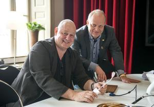 Arkitekten Gert Wingårdh och vd Niklas Nyberg ska ordna en offentlig presentation av hela projektet på Kulturmagasinet den 8 september.