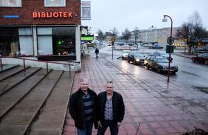 Per Westermark och Tomas Wiklöf vill ha upprättelse.