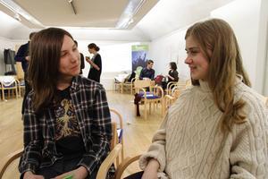 Bartosz Stroinski och Nora Boestad är två av människorna som träffades på Hälsinglands museum för att jobba för en levande landsbygd.