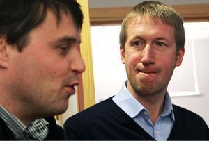 Daniel Kindberg och Graham Potter.