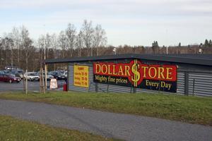 Dollarstore i Kramfors är ett exempel på en lyckad etablering.