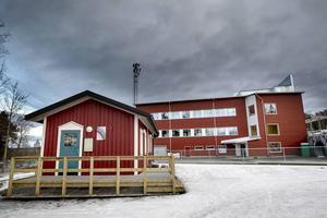 På måndagen öppnade skidstadions nya vallabod och omklädningsrum för allmänheten.