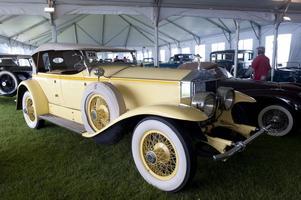 Bilen som Robert Redford körde när han spelade Jay Gatsby på vita duken. Foto: TT