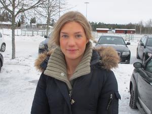 Linnéa Anderson, 24, fritidsledare, Hölö:– Oj, vad svårt. Det är inget jag har tänkt på faktiskt, men jag säger nog älg.