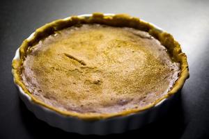Pumpapaj. Pumpapajen är en söt efterrätt och serveras med grädde och glass.