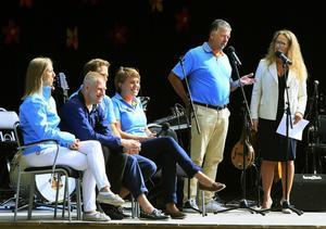 Talare under dagen var (från vänster): Helena Slavinska, Göran Pettersson, Bino Drummond, Cecilia Nordström och Kjell Jansson.
