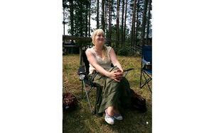 Anna Fredriksson besökte Malungsfors för sjätte gången. Foto: Jennie-Lie Kjörnsberg