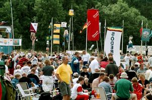 Så här såg det ut när OK Roslagen var en av arrangörerna av O-ringen 2001, då tävlingen gick i de uppländska skogarna.