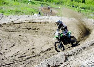 Petter Larsson, Krokoms motocrossklubb, blev tolva i Mx2JSE.