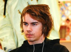 – Jag ska plugga, men kanske inte förrän om ett eller två år. Jag vill jobba och resa lite först, säger Mattias Häggkvist.