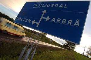 Riksväg 83 – i topp på svart lista från Motormännen.