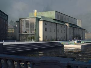 Så här ska konserthuset se ut efter ombyggnaden.