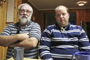 Nyvalda styrelsemedlemmar: Kent Rudberg, kassör och Johnny Rosén, ordförande.