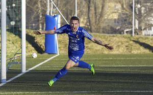 Fagersta Södras skyttekung Emil Zoltek.