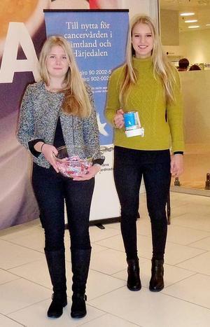 Alma Julin och Sunna Trebbin-Harvard vill göra cancer- och omvårdnadsfonden mer känd.