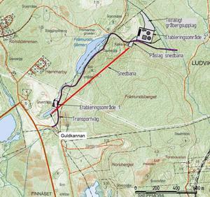 Här ska NIO provbryta i Blötberget och bygga en snedbana ned till malmen.