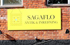 Sagaflo på Slakterigatan.