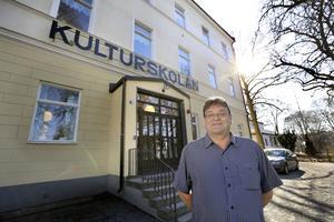 Kulturskolans rektor Micke Långs anordnar en debatt om skolans framtid den 6 oktober.