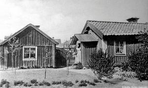 Knektbacken på Fredsgatan. Bilden är tagen i början av 1900-talet. Fotografiet har vi lånat från Stadsarkivet i Örebro.