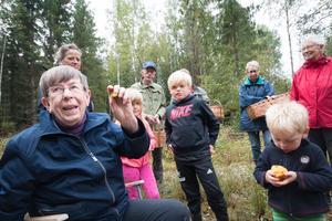 Ulla Jansson är svampexpert med förkärlek för svampen brunsopp.