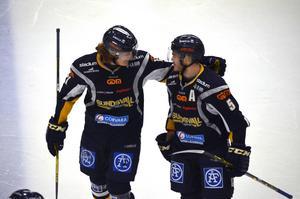 Jonathan Hedström spelade fram Tommy Enström till det matchavgörande målet i Sundsvallsdebuten.
