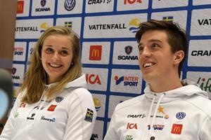 Stina Nilsson och Calle Halfvarsson kommer båda att tävla under lördagens sprint.