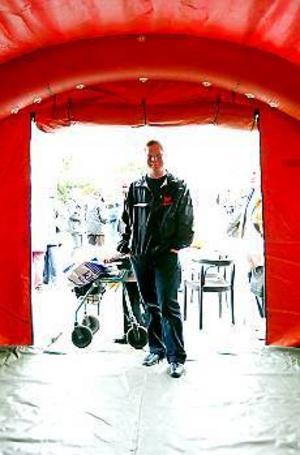 Foto: FRANK JULINSer ljust på tillvaron. För tre och ett halvt år sedan fick Patric Norrå ett nytt hjärta. Det hjälpte honom att överleva sjukdomen han bar på. I dag är han ute i skolor och informerar ungdomar om organdonation.