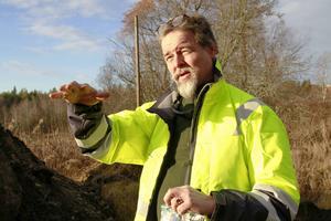 – Slagglagret har sannolikt lagts dit vid ett och samma tillfälle, säger Ola Nilsson.