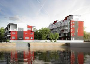 Under hela Condordia-kvarteret blir det 102 p-platser. 48 av dem går till de boende och nu har Lillskär tecknat avtal om de övriga 54 platserna.