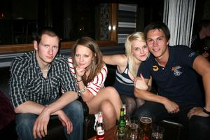 Tabazco. Jonas, Sofia, Mirelle och Stålmannen