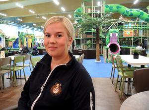 Sofia Narto, biträdande platschef, Leos Lekland i Borlänge.