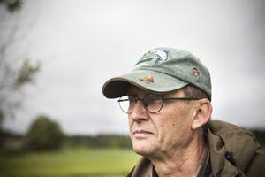 Kenneth Olsson, Ljusdals fvo, var den som satte ut den första omgången flodkräftor.