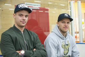 Martin Bauer och Nikolas Sturmankin förstärker Svegs A-lag i hockeyn.