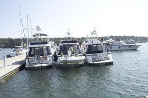 Gästhamnen i Nynäshamn har den kapacitet som krävs för att kunna ta emot Storebro-eskadern.