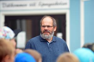 Förutom för de nytillkomna eleverna så var det ytterligare en person som fick uppleva sin första skolstart vid Ljungaskolan, nytillträdde rektorn Joakim Bäckström.