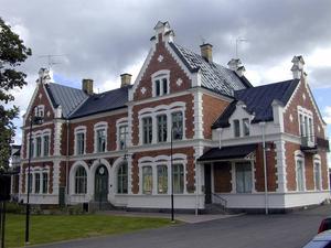 Dalarnas vackraste byggnad är Vansbro stationshus enligt omröstningen bland DT:s läsare.