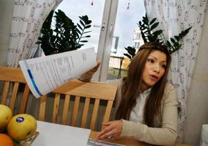 Vanessa Vasquez är besviken efter slitet i Norge som hon inte fick betalt för. I dag jobbar hon på förskolor i Torvalla och tycker det är skönt att vara hemma igen.